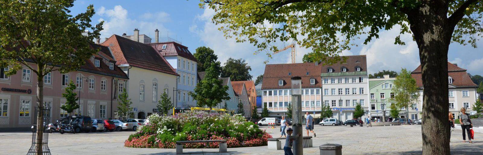 Ferienwohungen in Kempten bei Claudia Dress (Telefon: 0831/ 570907)